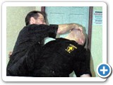 CARL CESTARI DELIVERING TIGER-CLAW TO CLINT SPORMAN - 1998 PRIVATE SEMINAR
